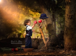 outdoor baby photography